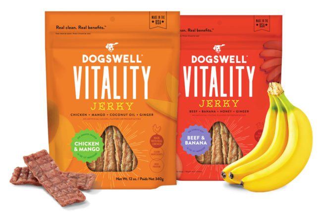 Dogswell functional jerky treats for dogs