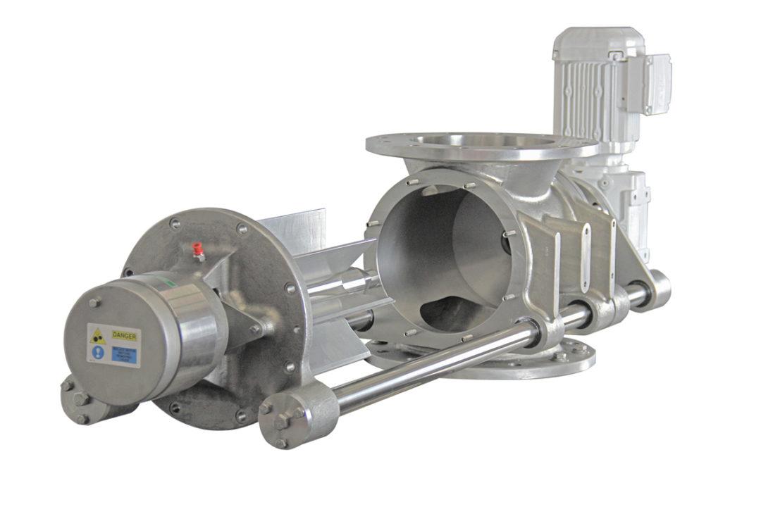 Gericke designs new sanitary rotary valve