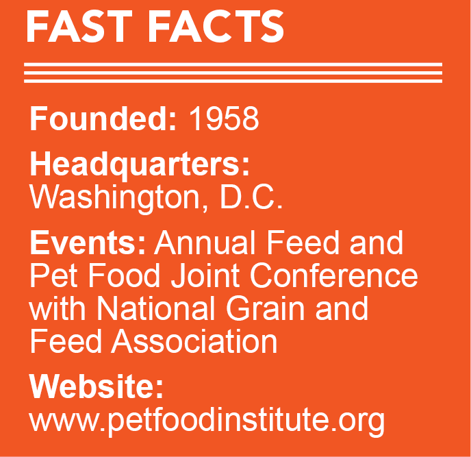 Pet Food Institute Fast Facts