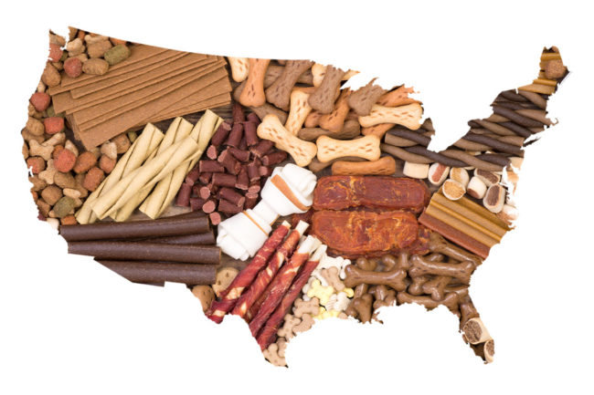 Pet food and treat industry associations in the United States