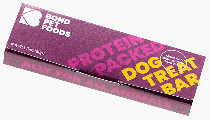 Bond Pet Foods Protein Packed Dog Treat Bar