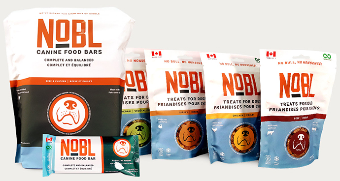 NOBL Canine Food Bars