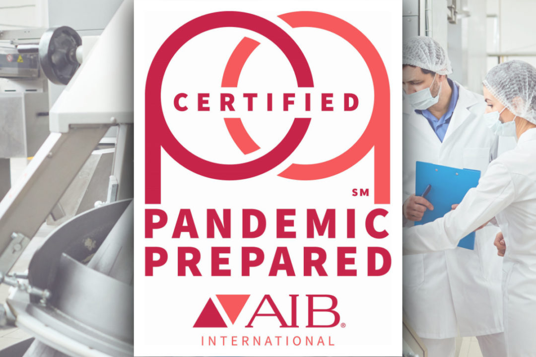 AIB introduces pandemic-era certification for food manufacturers