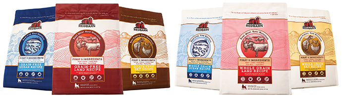 Redbarn dry dog foods