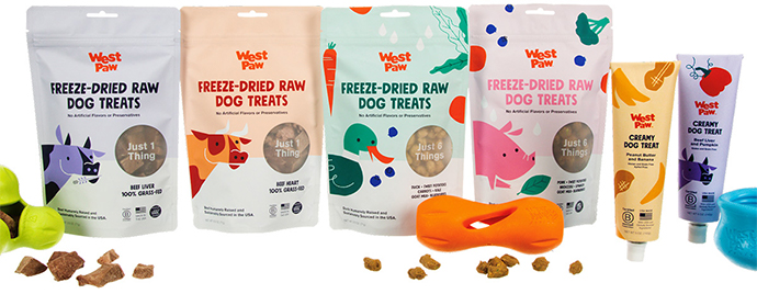 West Paw pet treats