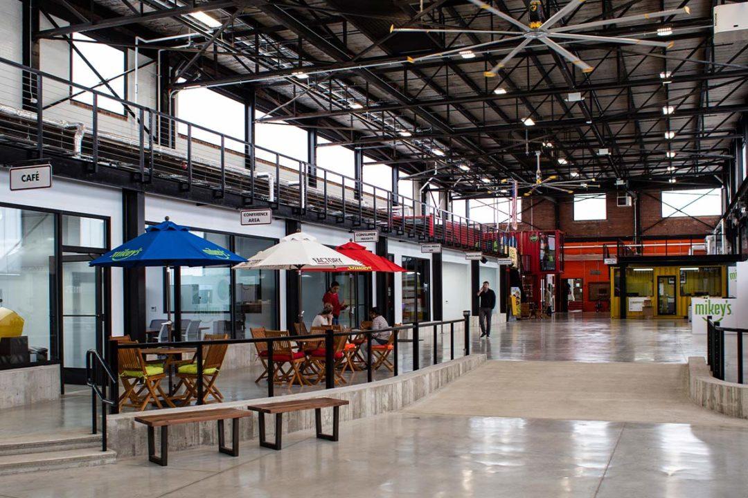 Inside Factory's innovation center in Bethlehem, Pennsylvania