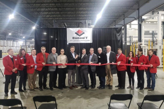 Diamond V expands Cedar Rapids facility by 100,000 square feet