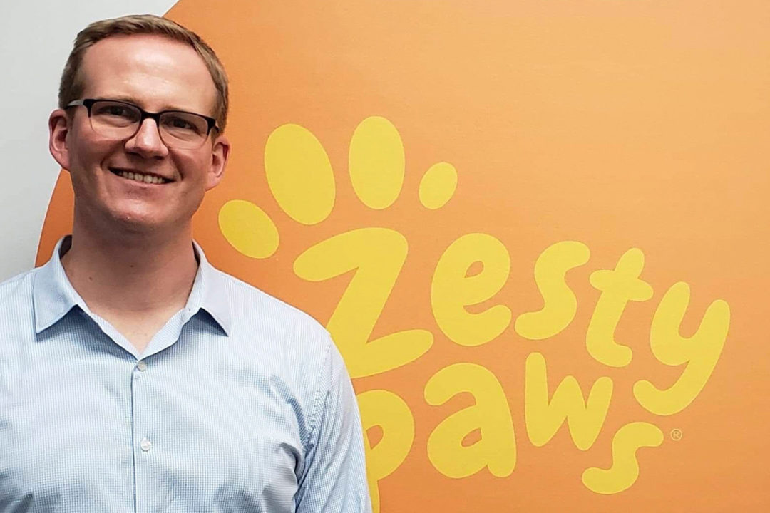 Steve Ball, new CEO of Zesty Paws
