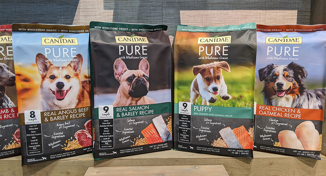 Canidae PURE dog food with wholesome grains