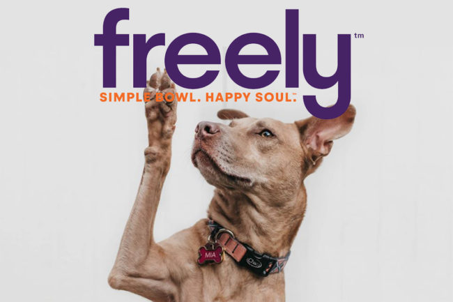 Freely Pet debuts kibble and wet canned dog and cat foods, as well as a line of functional meal toppers