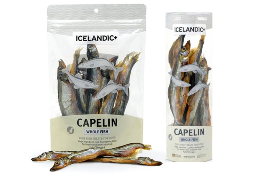 Icelandic+ issues voluntary recall of capelin treats