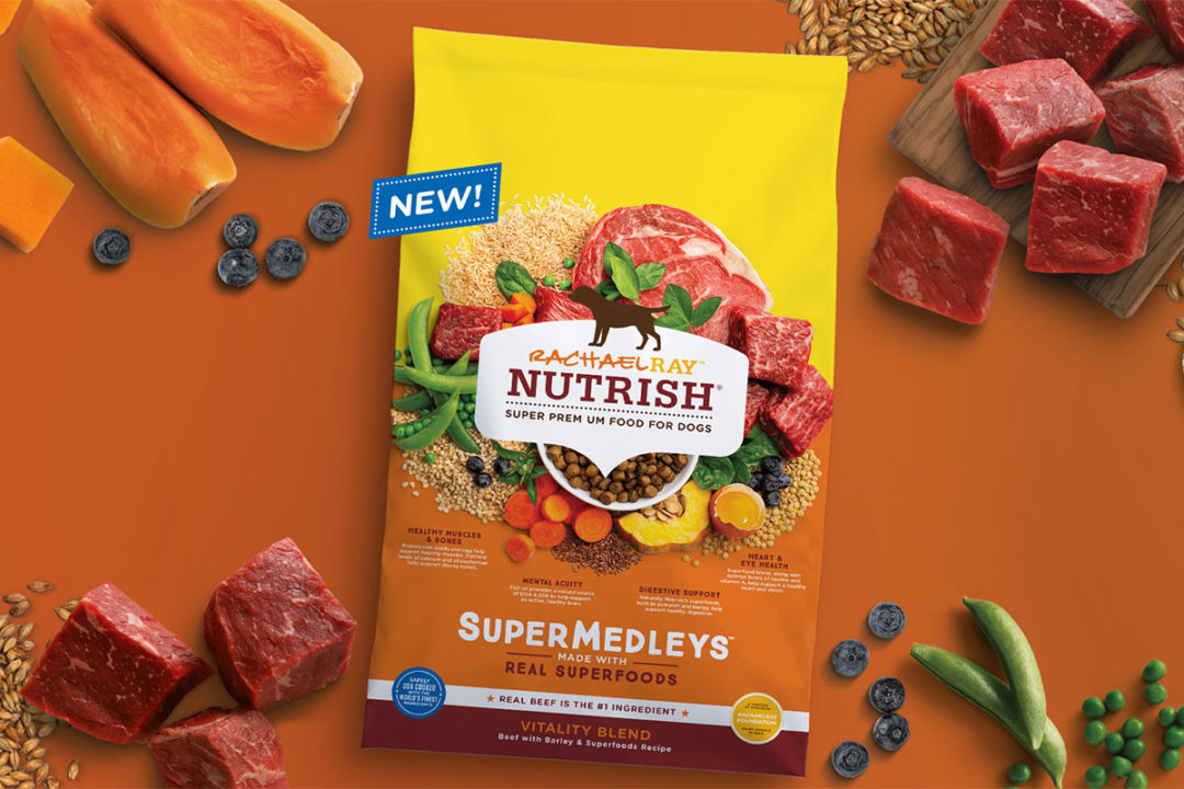 Nutrish launches two new dog foods formulated with high fiber superfoods