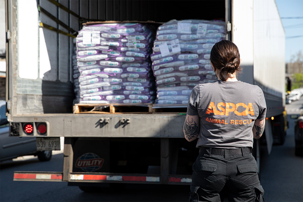 ASPCA receives 800,000+ pet food donations from Wisconsin manufacturer
