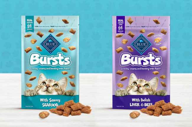New Blue Buffalo cat treats, Bursts