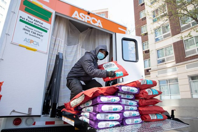 ASPCA to help more 200,000 pets throughout the COVID-19 crisis in the United States