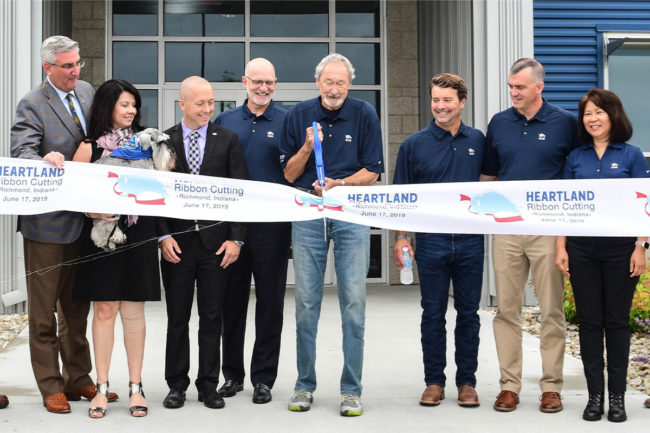 Blue Buffalo Richmond facility ribbon cutting