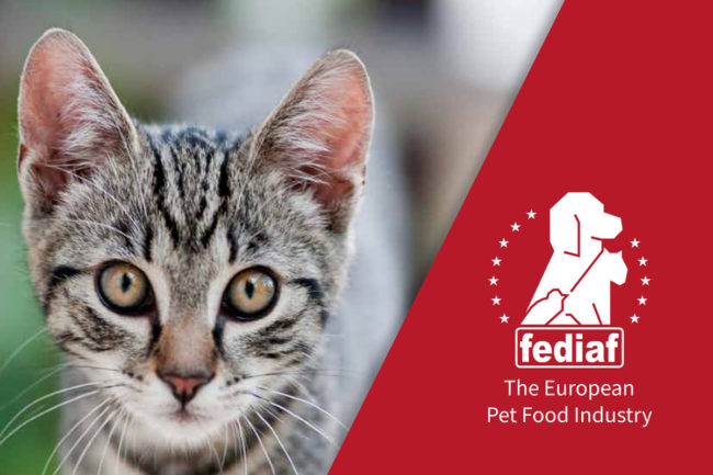 Cover of FEDIAF Pet Food Industry statistics, 2018