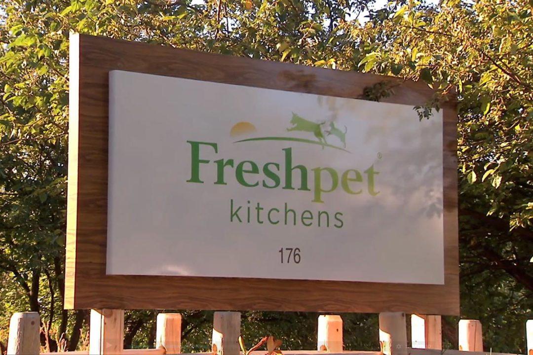 Freshpet Kitchen sign