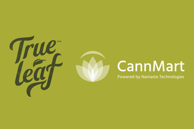 True Leaf, CannMart.com logos