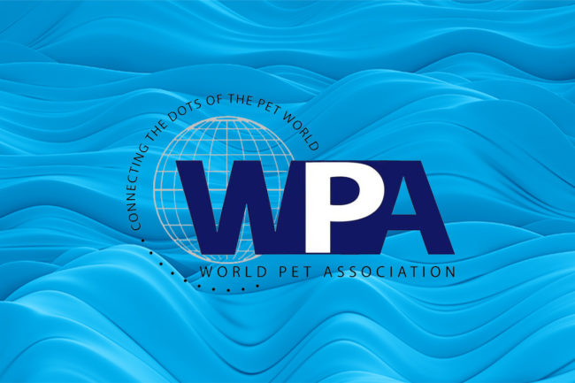 World Pet Association logo on Nielsen graphic background