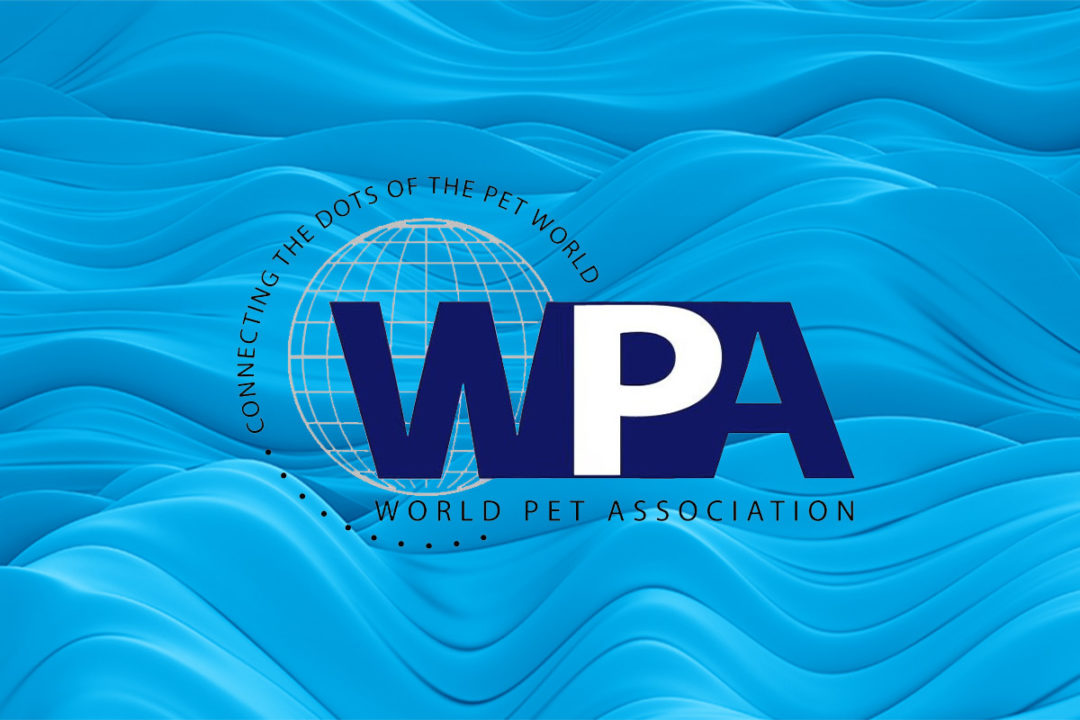 World Pet Association logo on Nielsen graphic background
