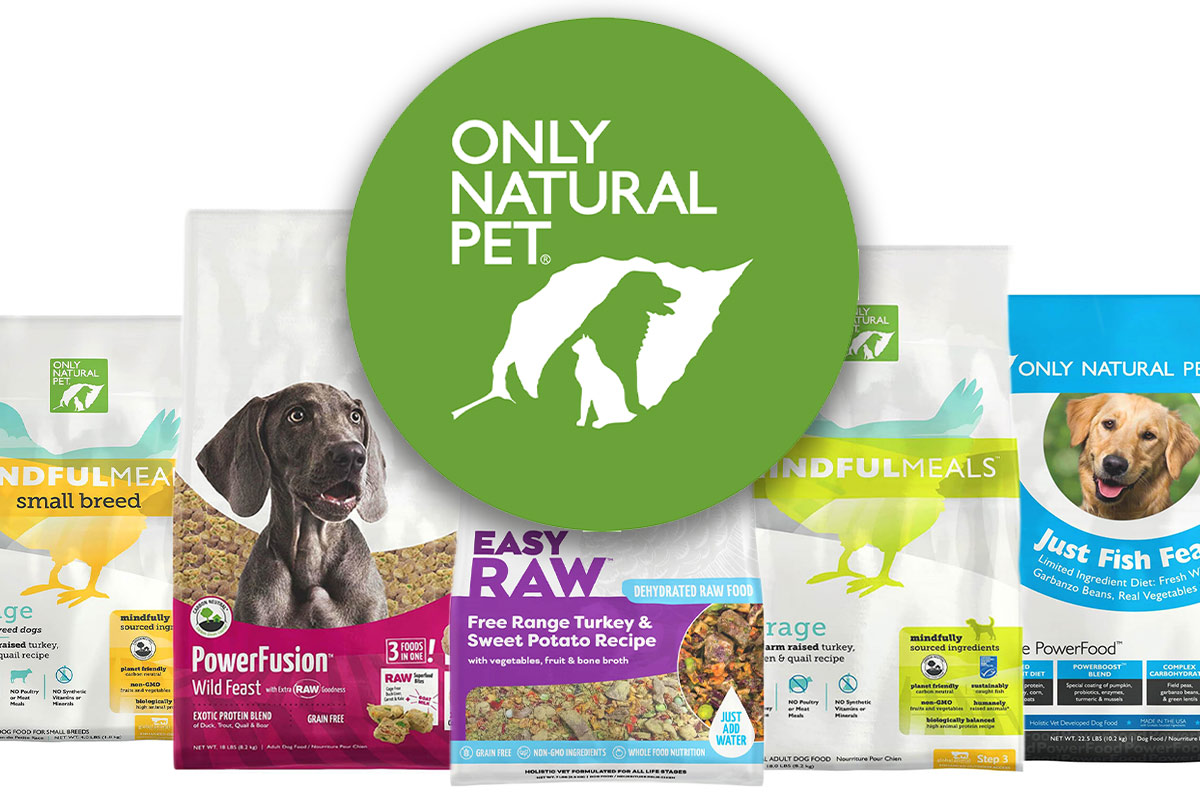 Only Natural Pet flexible packaging