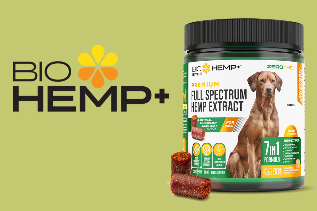 Animal Nutritional Products new Bio Hemp + dog treats