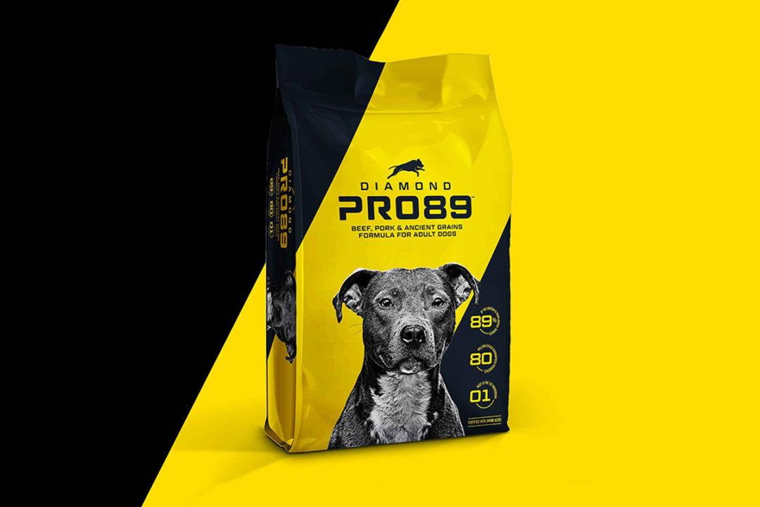 Diamond Pet Foods' new Pro89 high-performance dog diet