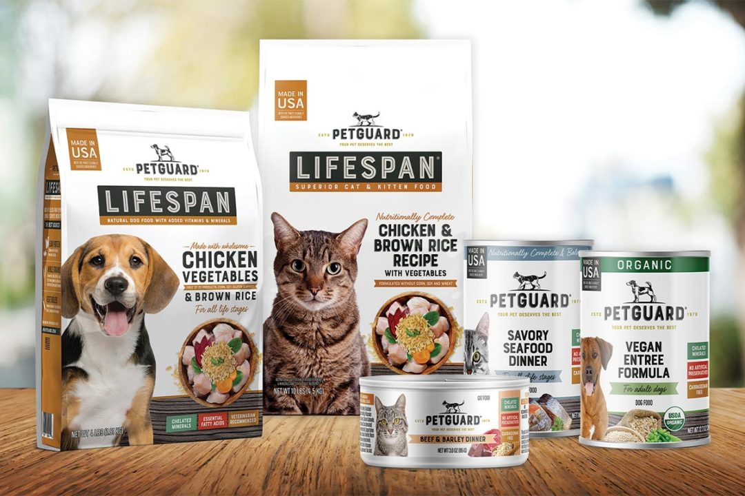 PetGuard new pet food package designs