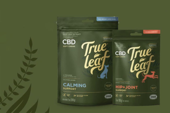 True Leaf releases first CBD-infused pet product