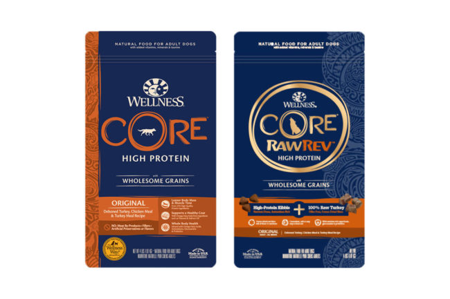 Wellness unveils CORE and CORE RawRev with Wholesome Grains