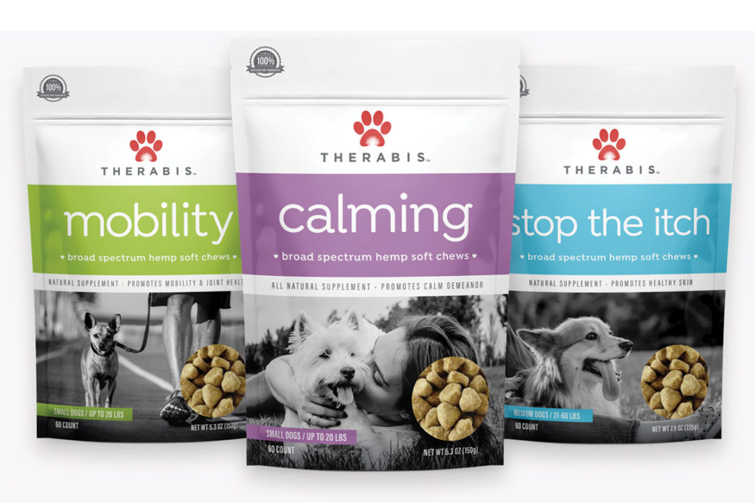 Therabis adds Mobility soft chews for dogs