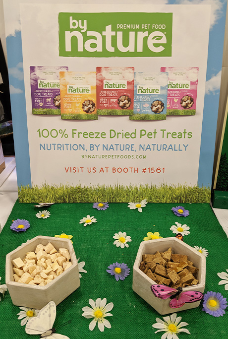 BrightPet's By Nature freeze-dried treats