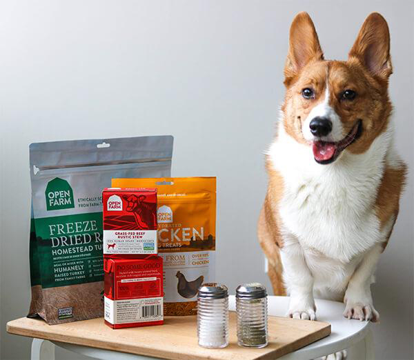 Open Farm dog food products