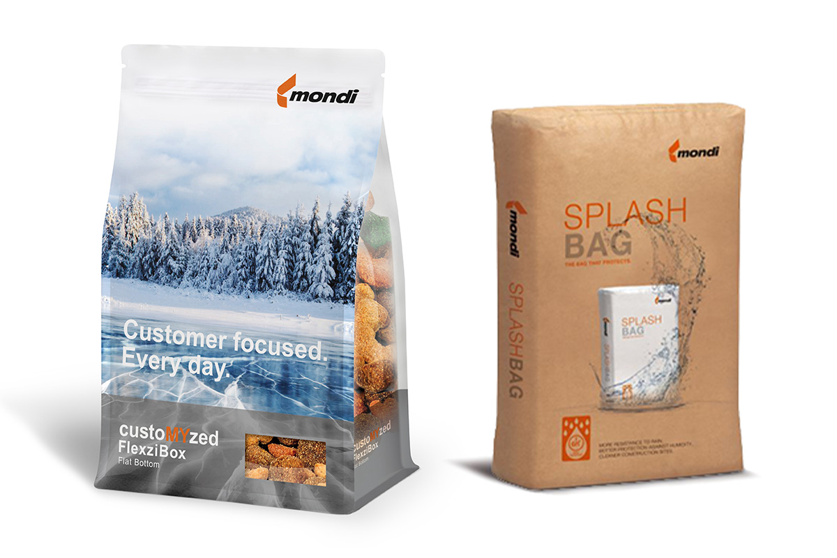 Mondi flexographic and Splash Bag products