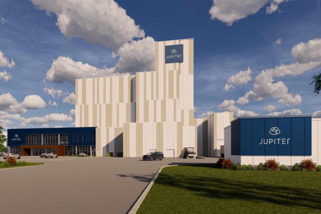 Canadian firms build pet food plant, Jupiter