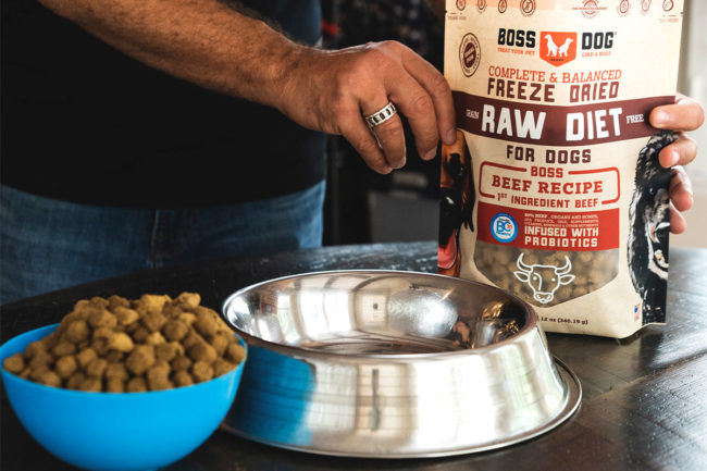 Boss Dog Brand releases freeze-dried dog foods