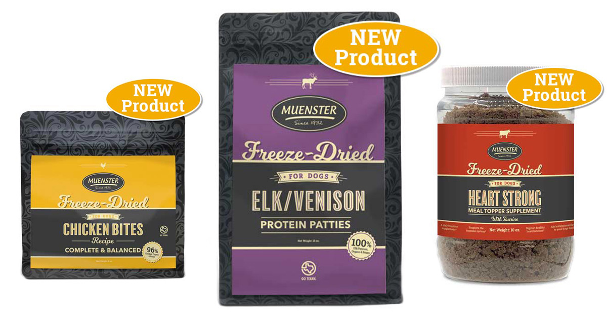 Muenster Milling's new freeze-dried products