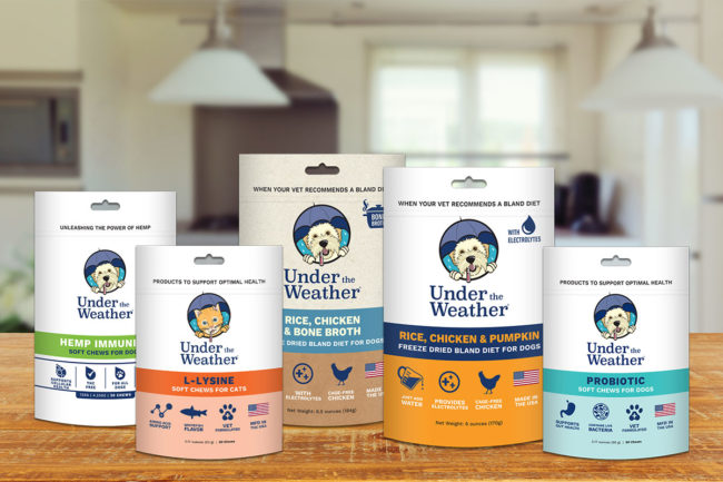 Under the Weather added to Midwestern stores through Pet Food Experts