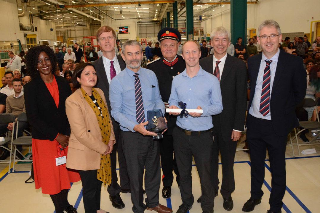 Bühler awarded another Queen's Award for Enterprise for Sortex optical sorting technology