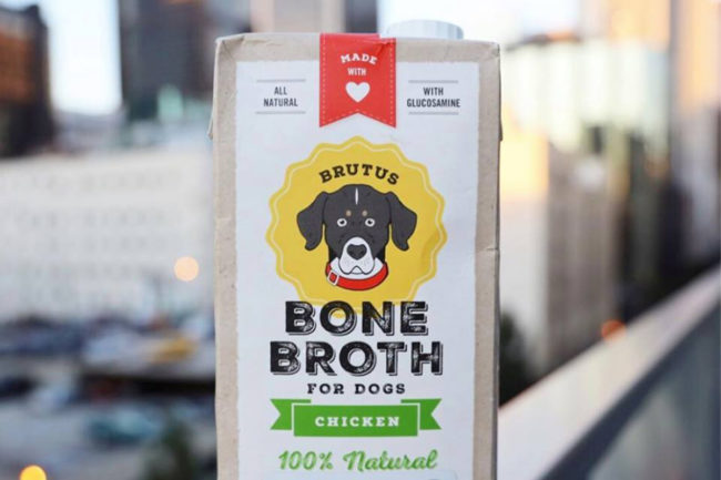 Brutus Broth products added to pet specialty retailers across the US
