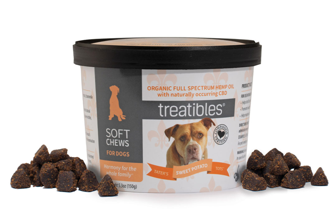 Rescue dog recognized with new Treatibles soft chew