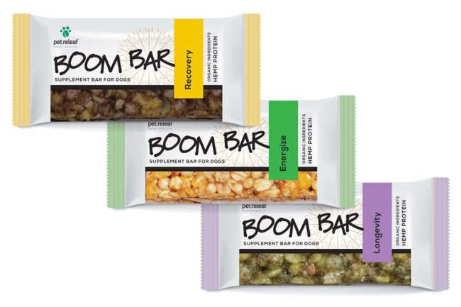 Pet wellness company releases hemp-fortified protein bars for dogs