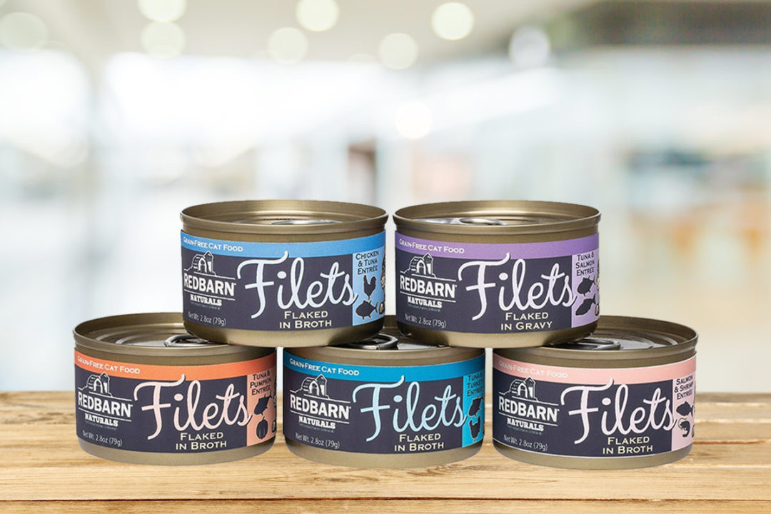 Redbarn debuts newest cat food line, Filets Flaked in Broth