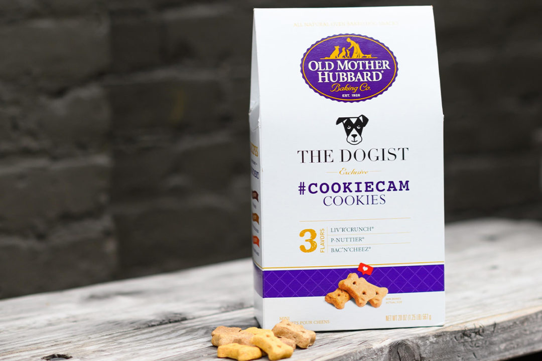 Old Mother Hubbard partners with The Dogist on co-branded dog biscuits