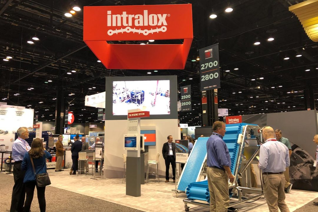 Intralox subsidiary Commercial Food Sanitation wins innovation award for conveyance workshop at PROCESS EXPO