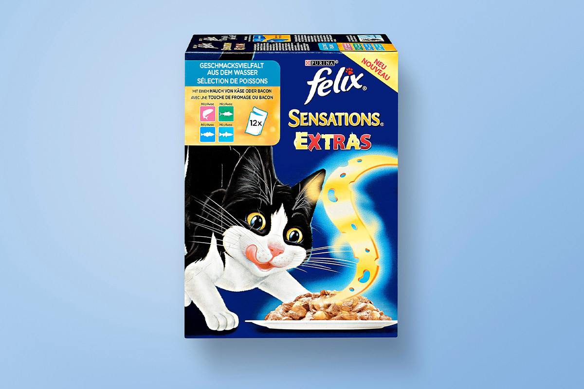 Purina Felix cat food