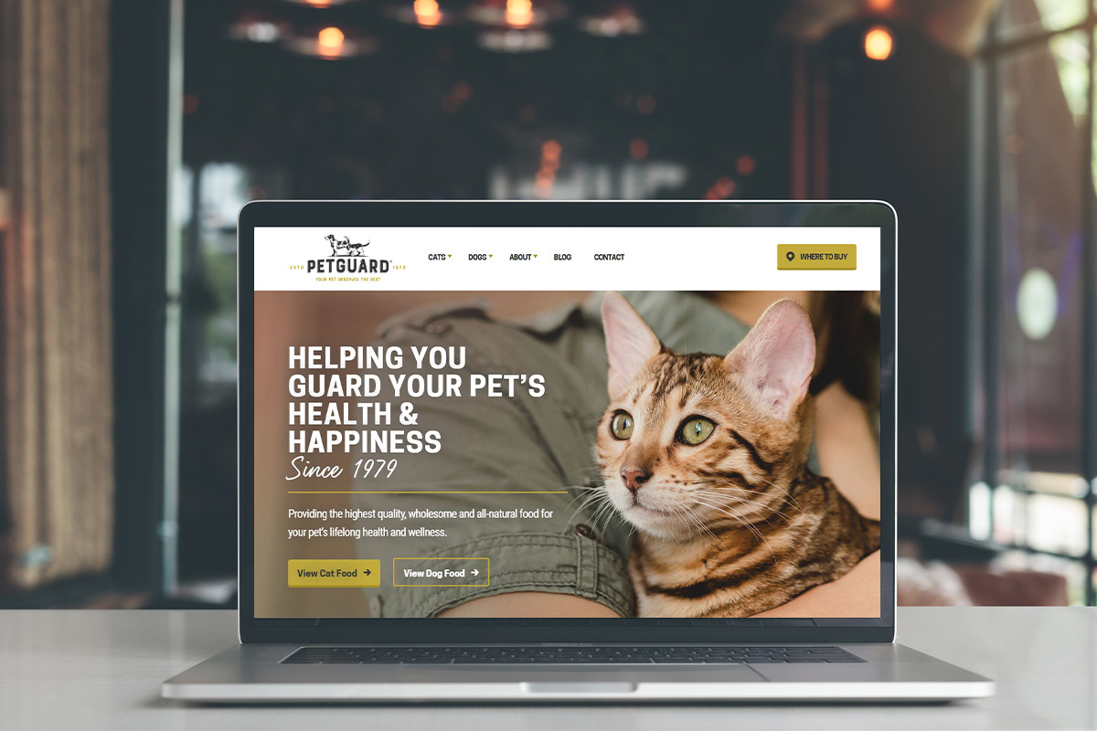 PetGuard website
