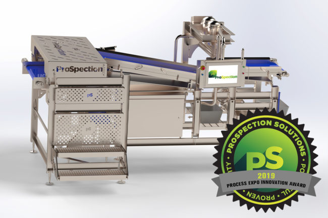 ProSpection Solutions awarded for innovation in foreign material detection equipment