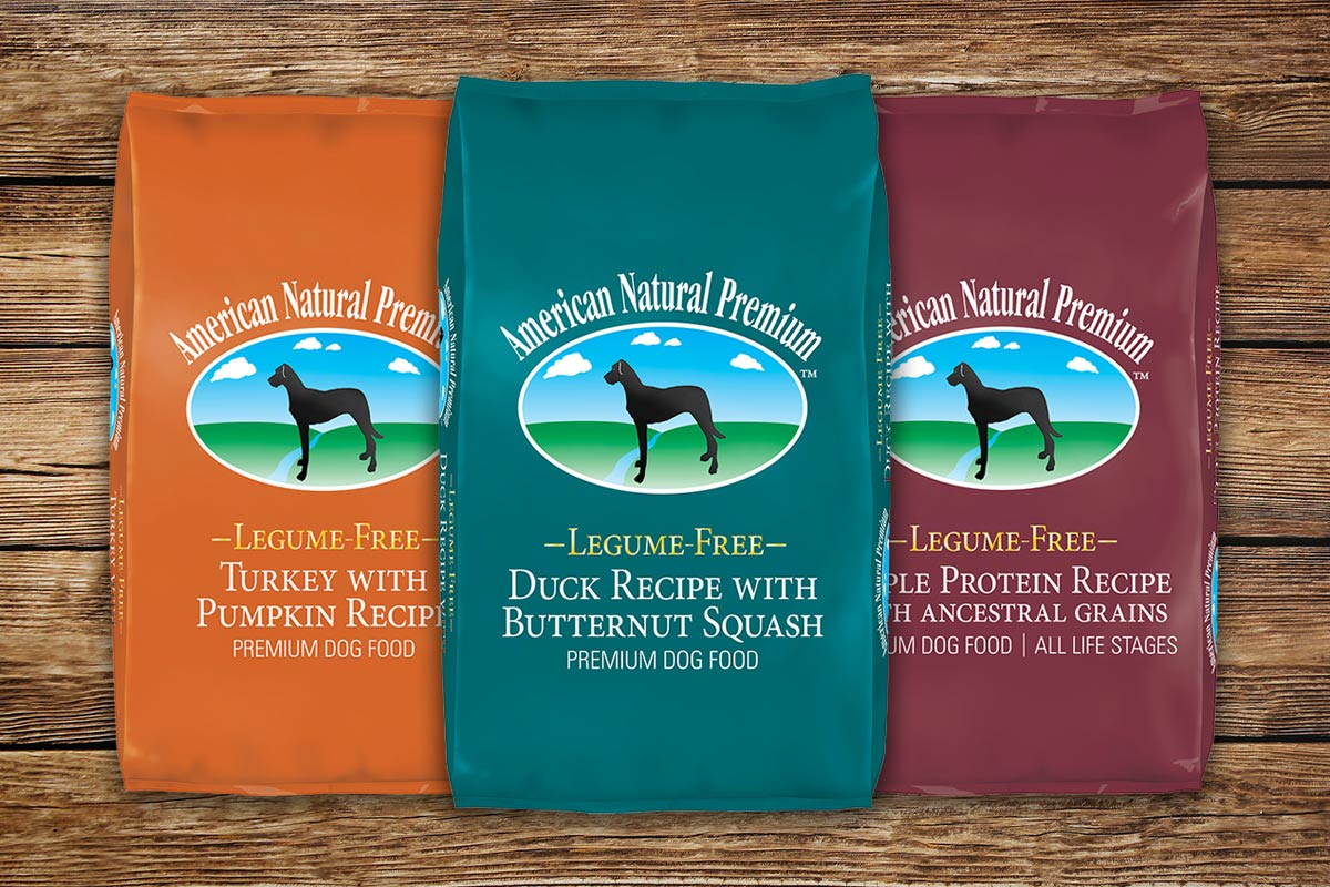 Legume-free dog food line by ANP